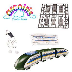 Kit de energía solar Tren, la experimentación científica en los niños.