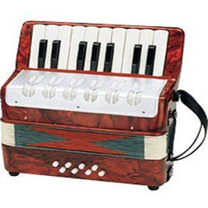 Acordeón, instrumento musical para niños a partir de 5 años