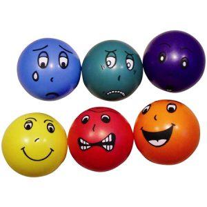 Pelotas de Las Emociones, juego de psicomotricidad y psicología infantil