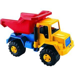 Camión Tolva juego de coordinación viso-motora