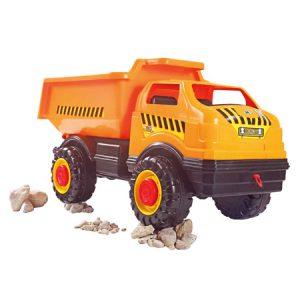 Camión Goliat Obras Públicas, juguete para el desarrollo de habilidades motrices