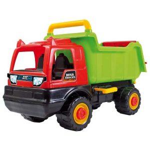 Camión tolva mega truck. Juego de coordinación viso-motora