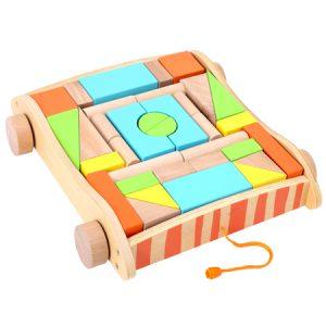 Bloques geométricos de madera