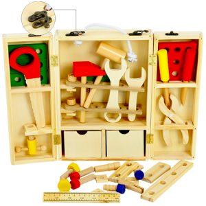 Juguete simbólico de madera
