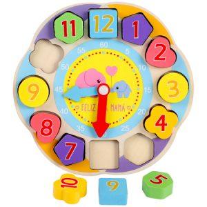 Juego para reforzar el concepto del tiempo