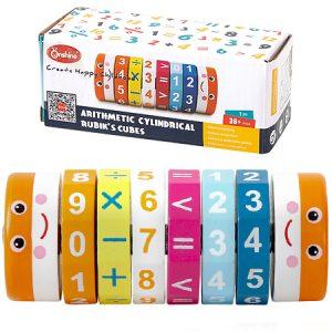 Juego para mejorar la capacidad aritmética y la coordinación óculo-manual.